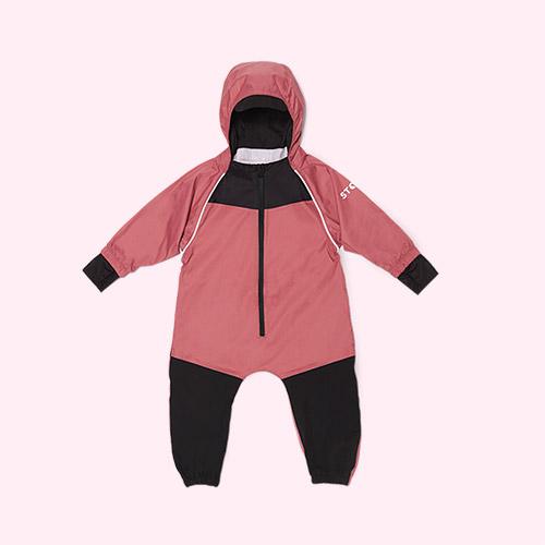 Dusty Rose Stonz Rain suit