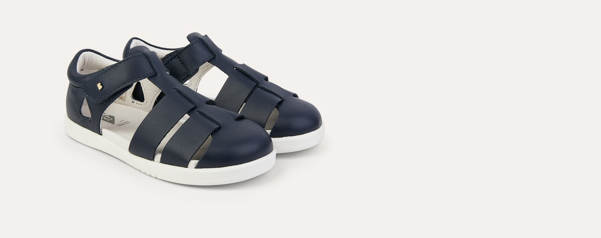 Navy Bobux Kid+ Tidal Sandal