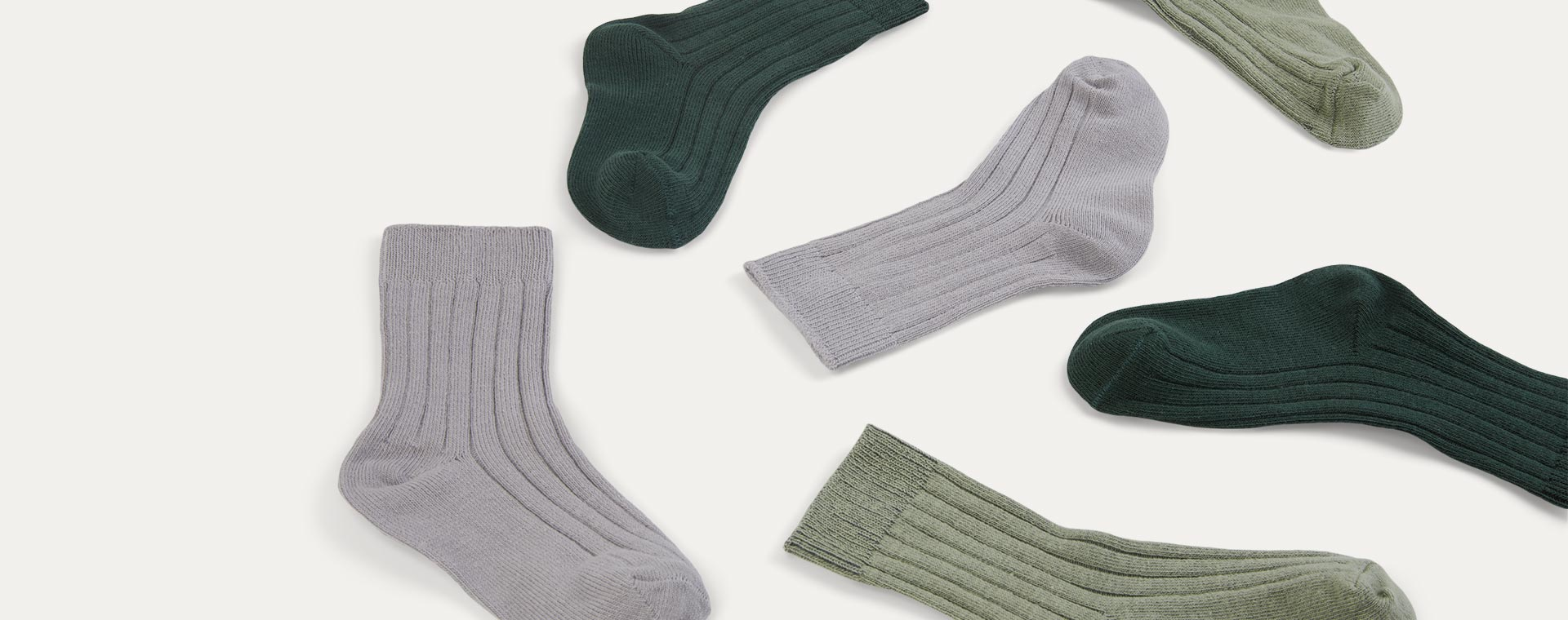 Forest Mix KIDLY Label 3-Pack Socks