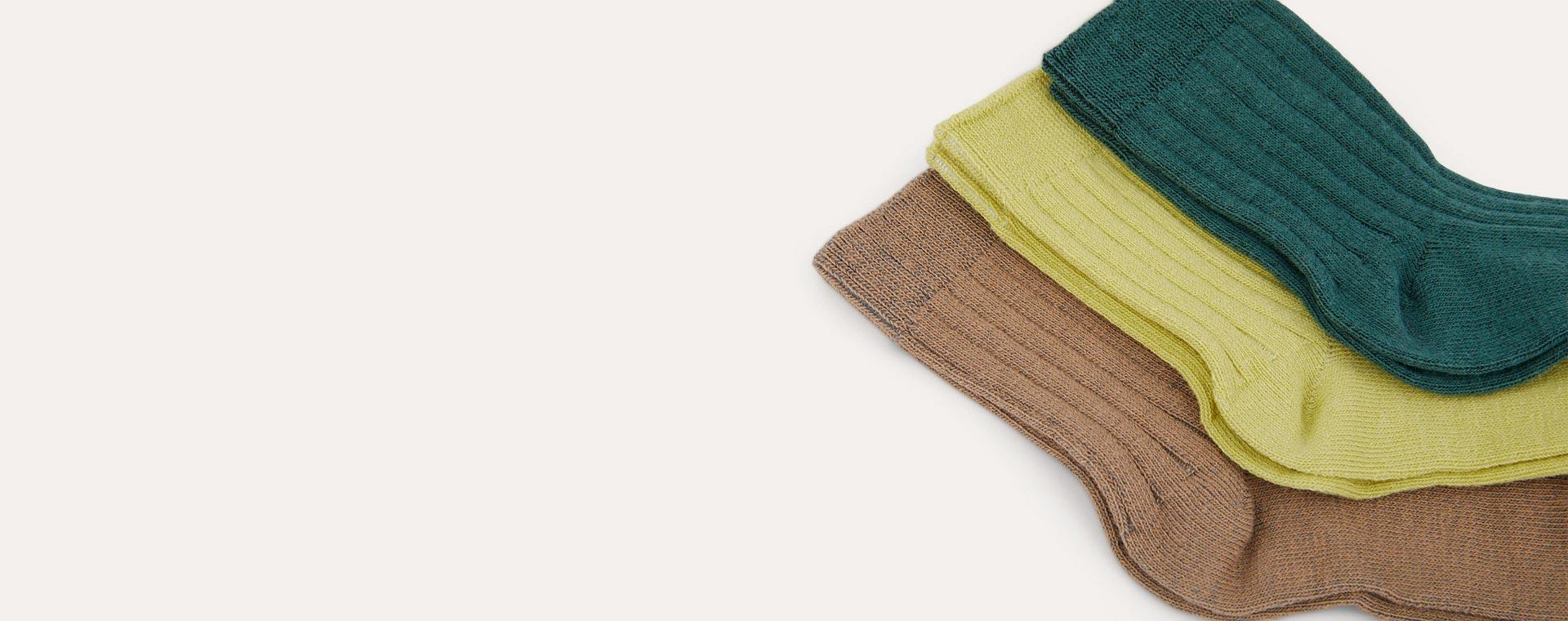 Jungle Mix KIDLY Label 3-Pack Socks