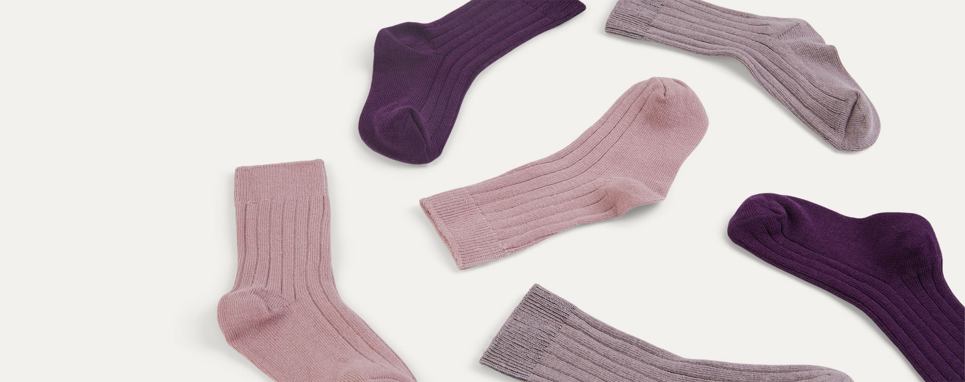 Peony Mix KIDLY Label 3-Pack Socks