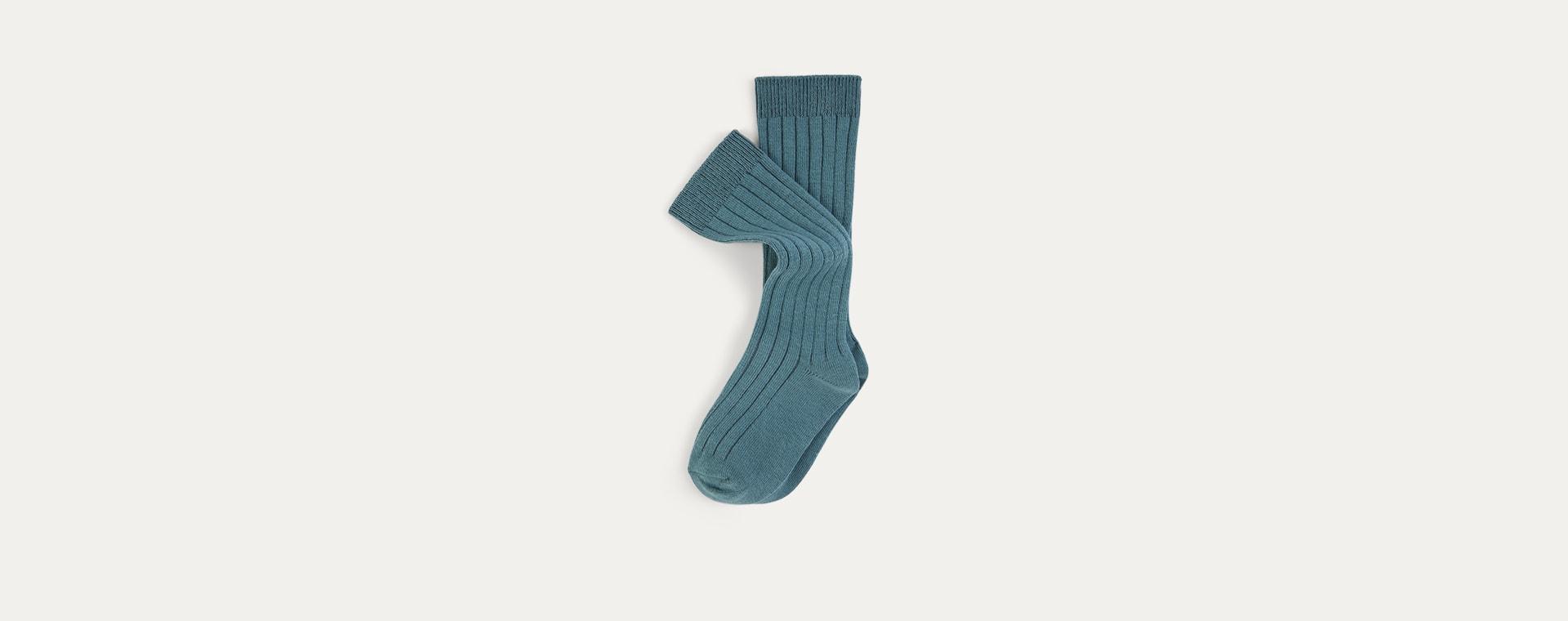 Ocean Mix KIDLY Label 2-Pack Long Socks