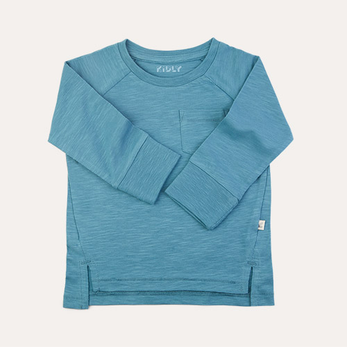 Aqua KIDLY Label Perfect Long Sleeve Tee