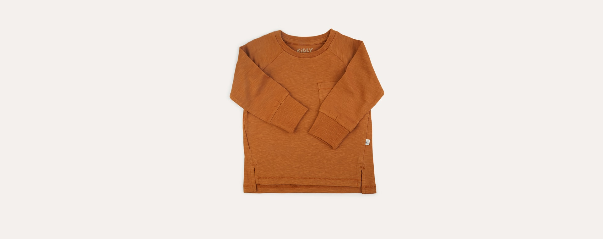 Ginger KIDLY Label Perfect Long Sleeve Tee