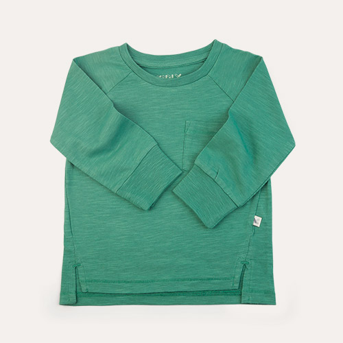 Grass KIDLY Label Perfect Long Sleeve Tee