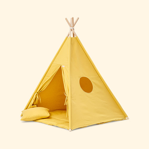 Sunny mustard wigiwama Teepee Set