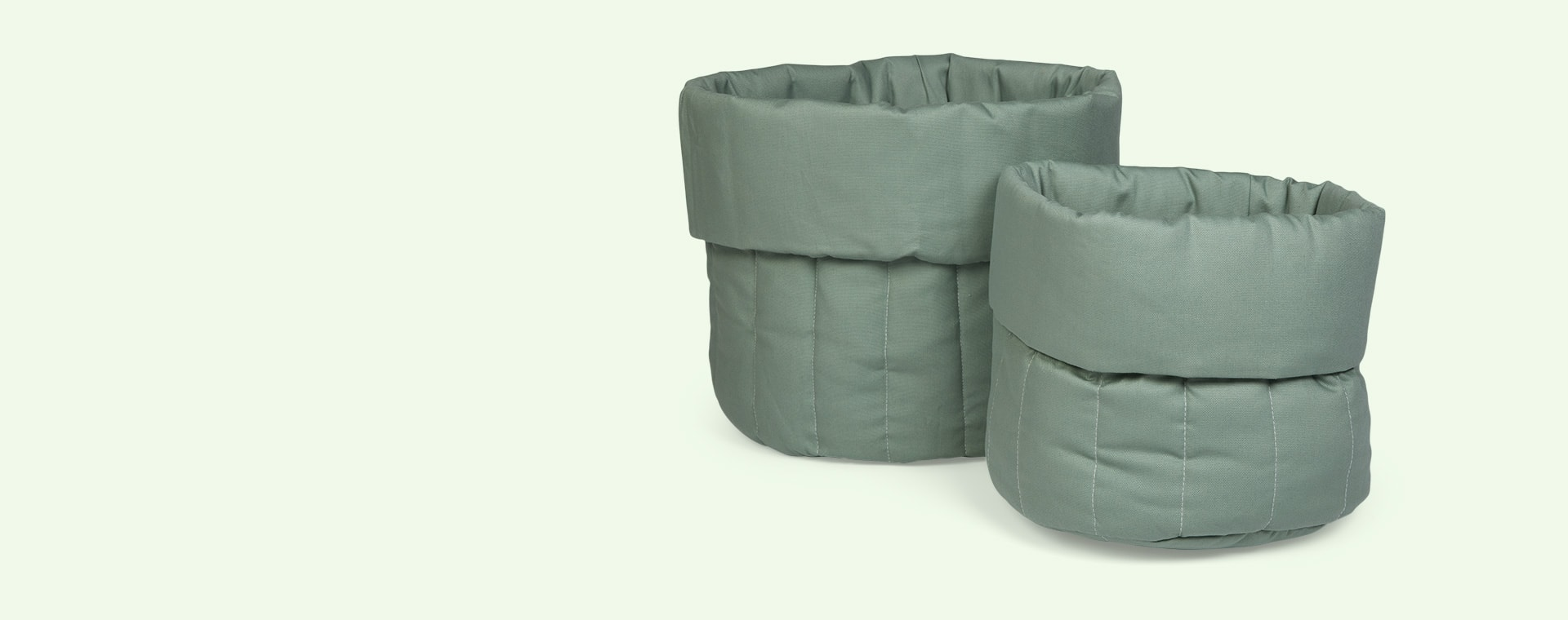 Olive Green wigiwama Big Toy Storage Bag