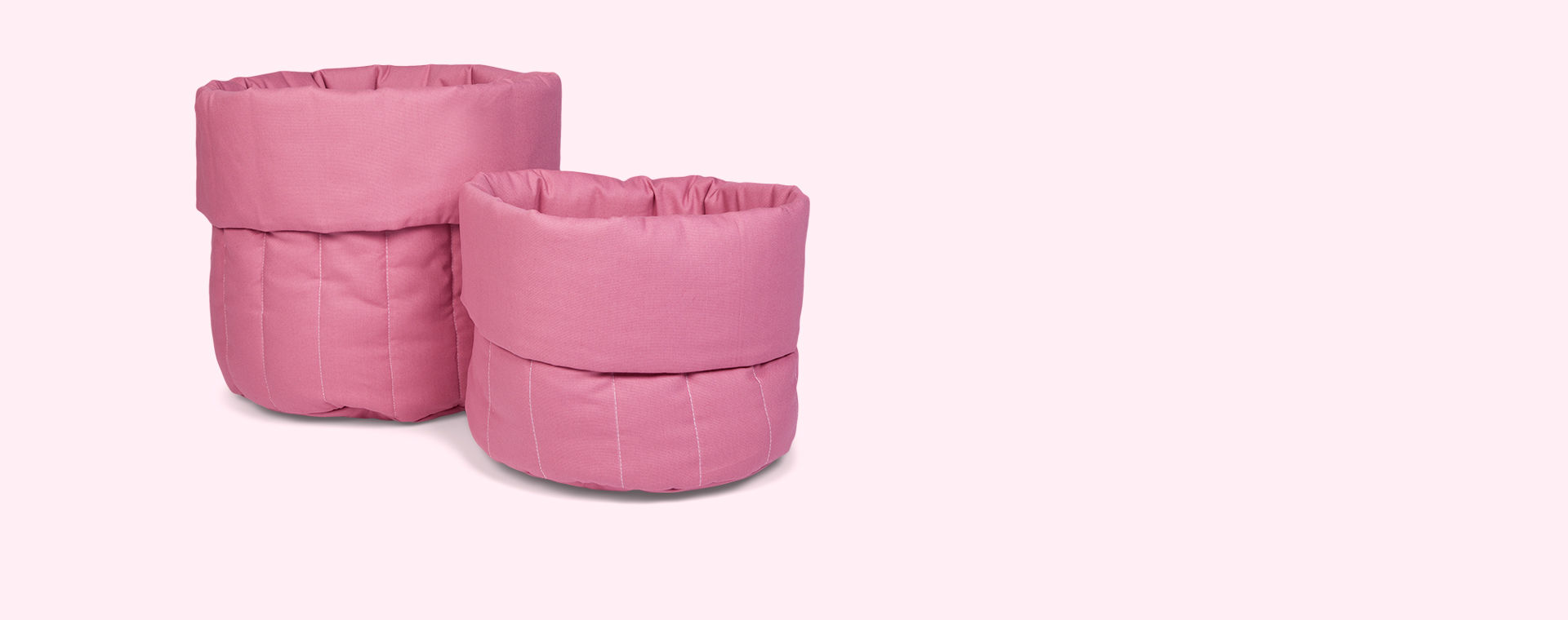 Blush Pink wigiwama Big Toy Storage Bag