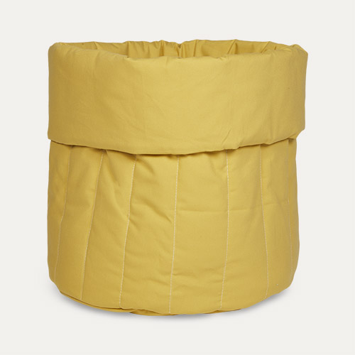 Sunny Mustard wigiwama Big Toy Storage Bag