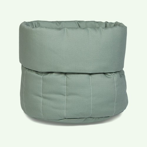 olive green wigiwama Small Toy Storage Bag