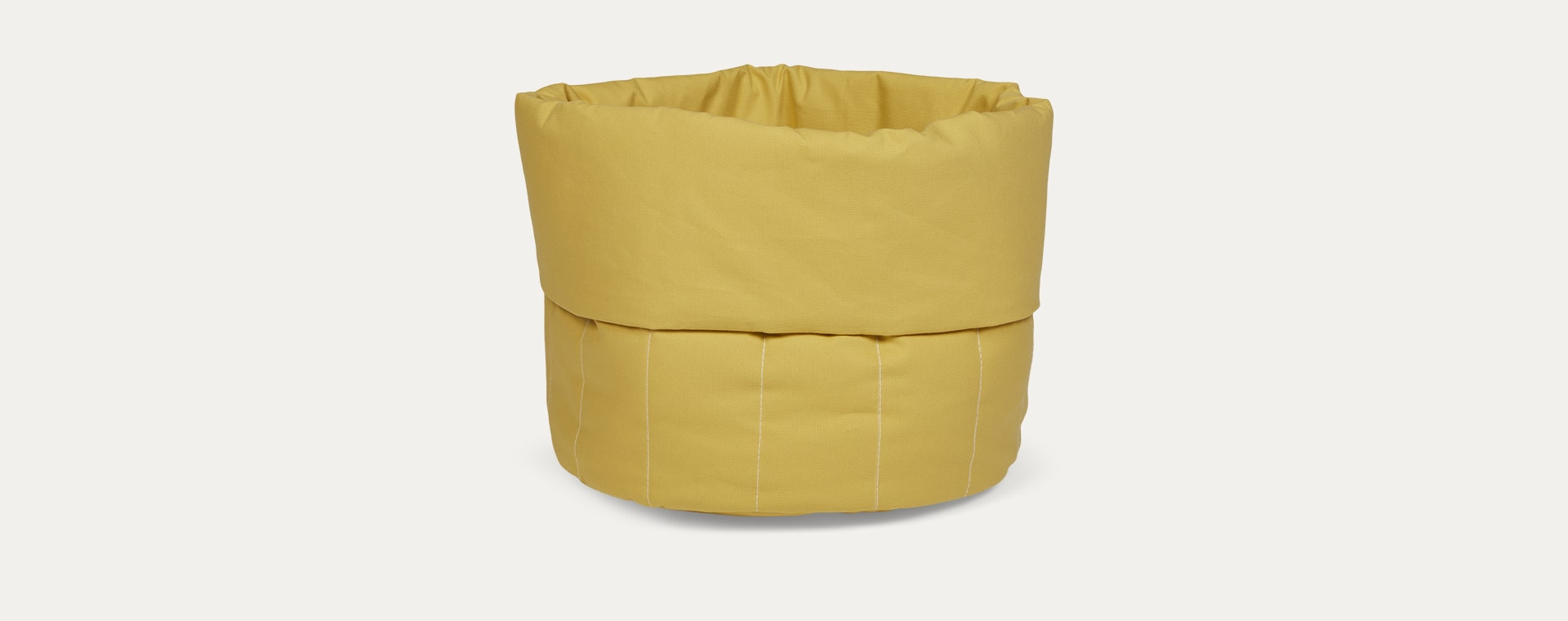 Sunny mustard wigiwama Small Toy Storage Bag