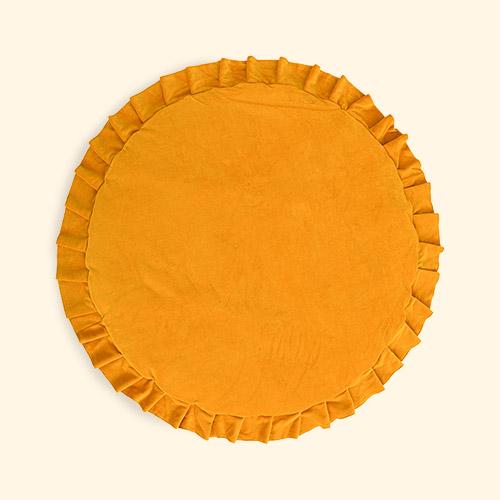 mustard wigiwama Velvet Playmat