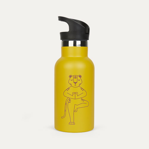 Mustard Tiger wigiwama Water Bottle