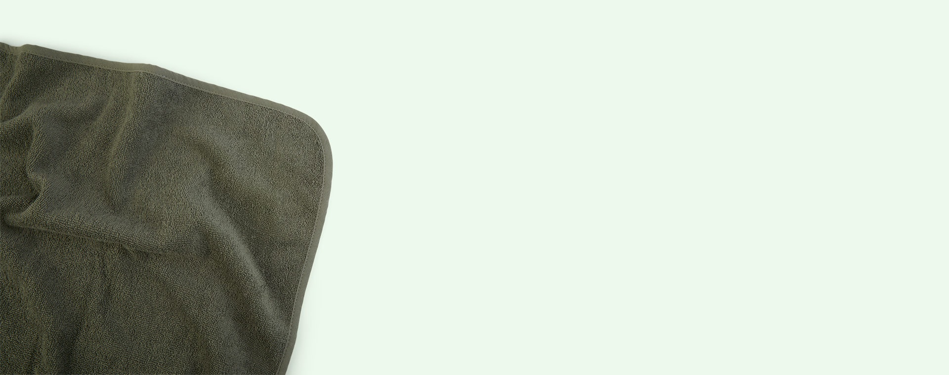Dino Green Mix Liewood Albert Hooded Towel 2-pack