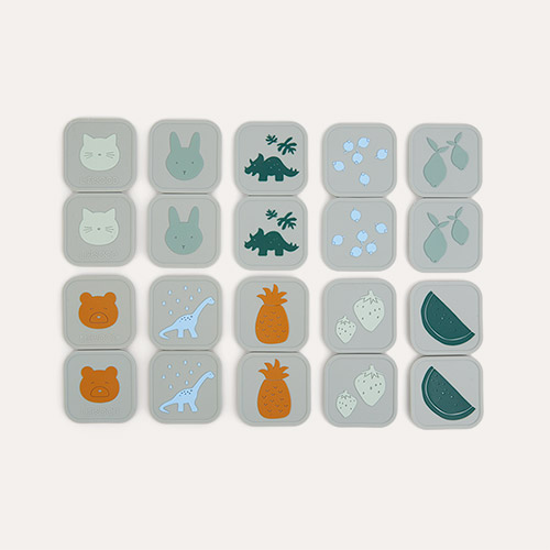 Dove Blue Multi Mix Liewood Easton Memory Game