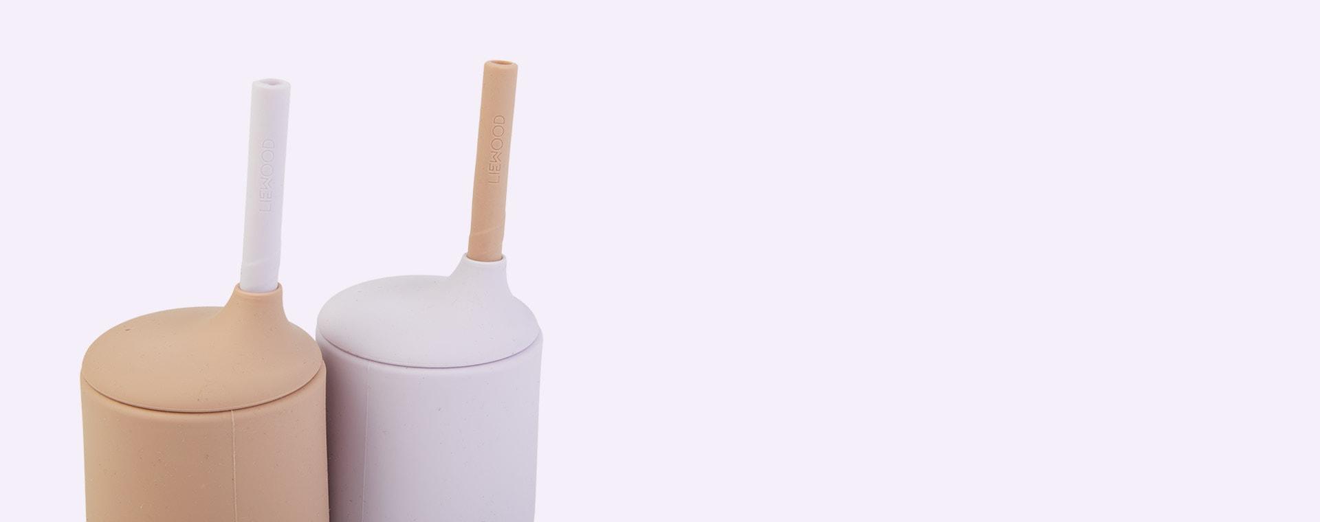 Light Lavender Rose Mix Liewood Ellis Sippy Cup 2-pack
