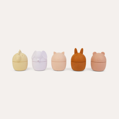 Rose Multi Mix Liewood Gaby Bath Toys 5-pack