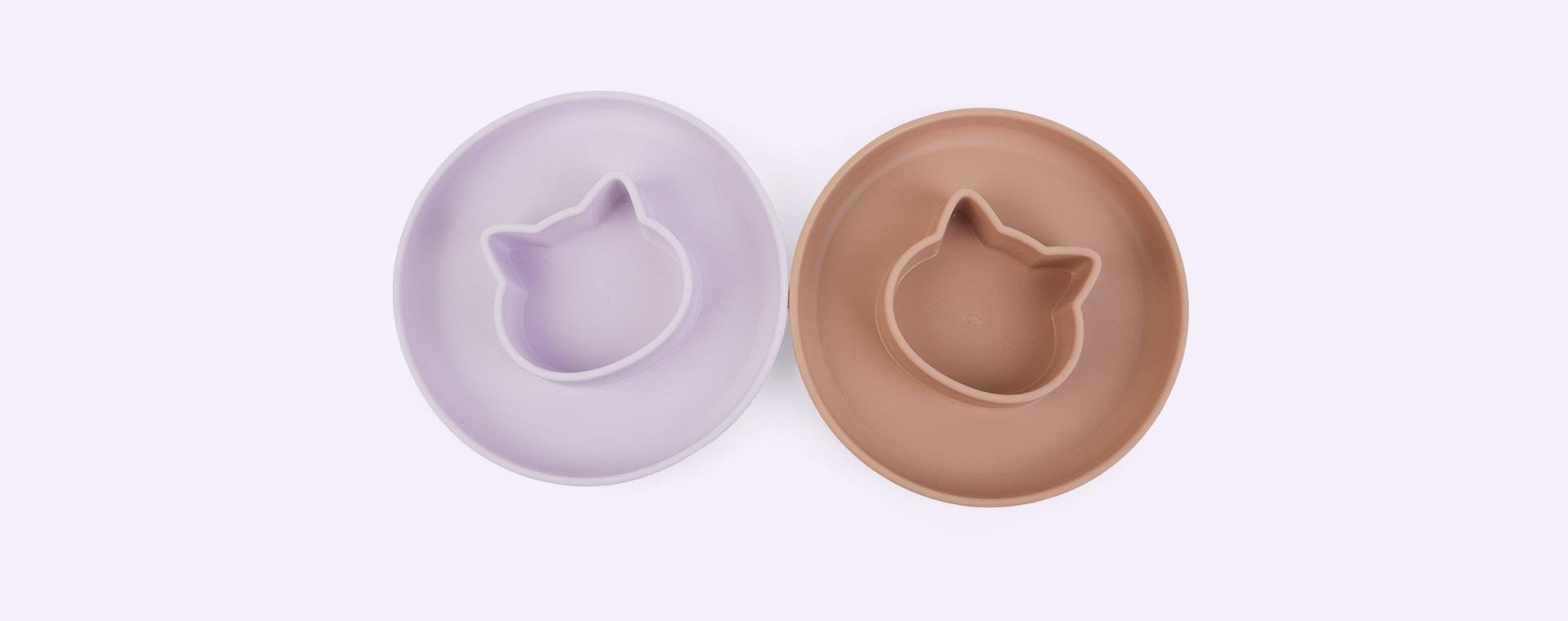 Cat Light Lavender Rose Mix Liewood 2-Pack Gordon Plate