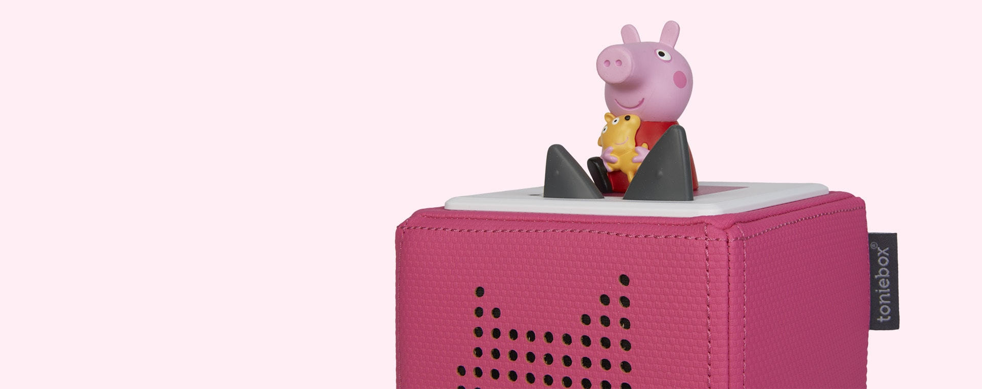 Pink Tonies On the Road with Peppa Pig