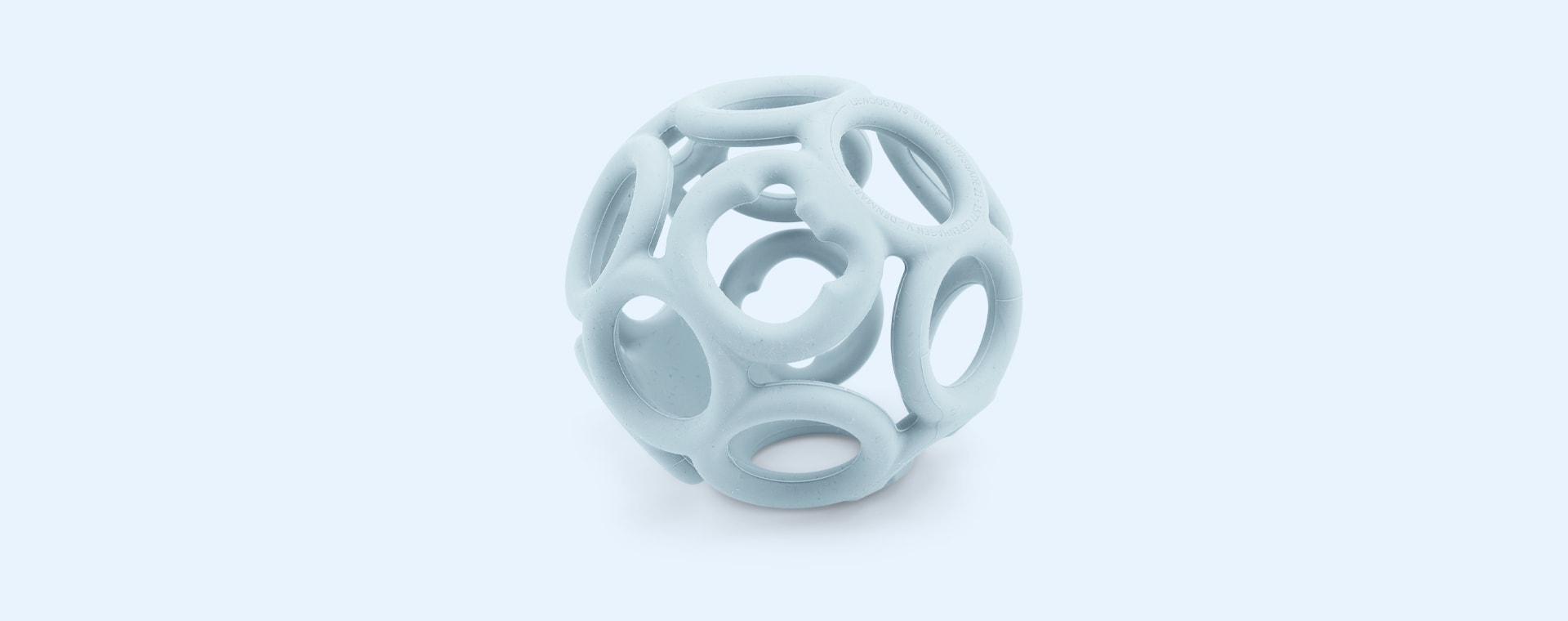Sandy Sea Blue Mix Liewood Jasmin Teether Ball 2-pack