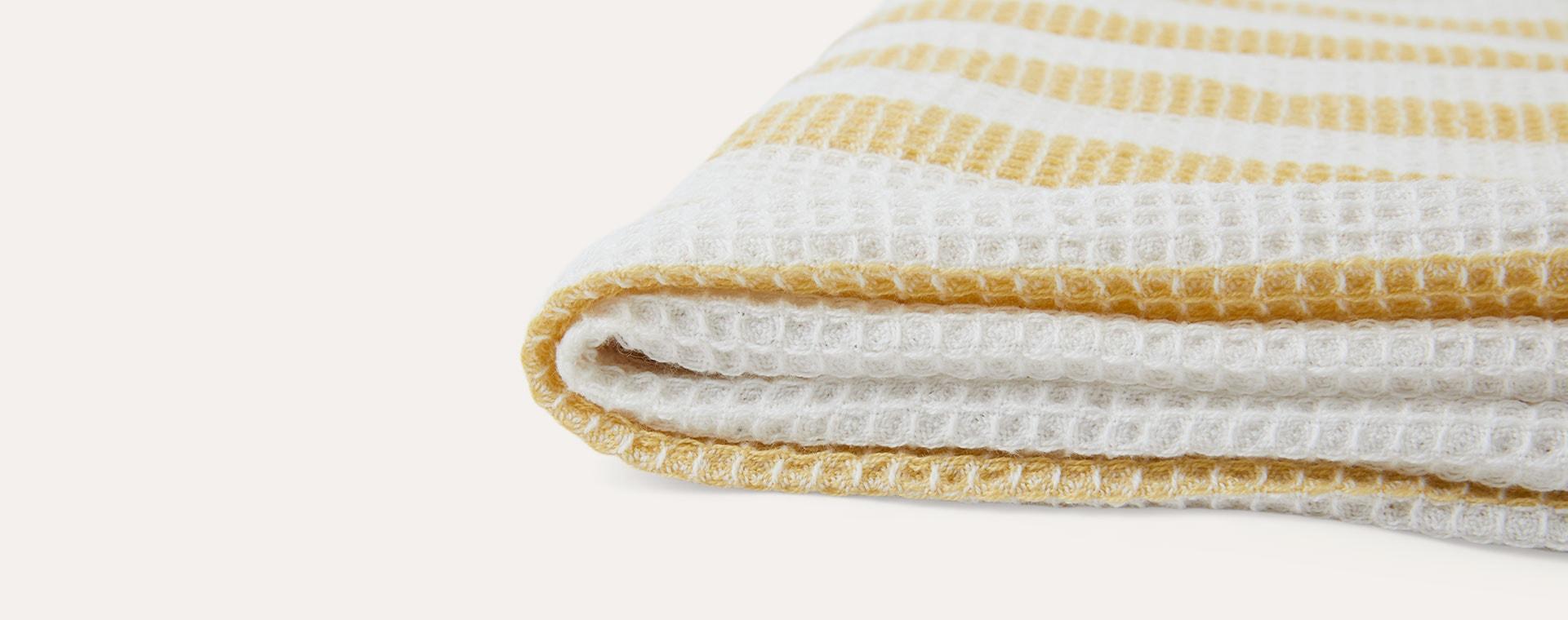 Wheat Yellow/Crème de la Crème Liewood Macy Beach Towel