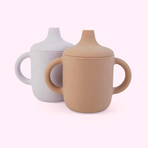 Light Lavender Rose Mix Liewood Neil Cup 2-pack