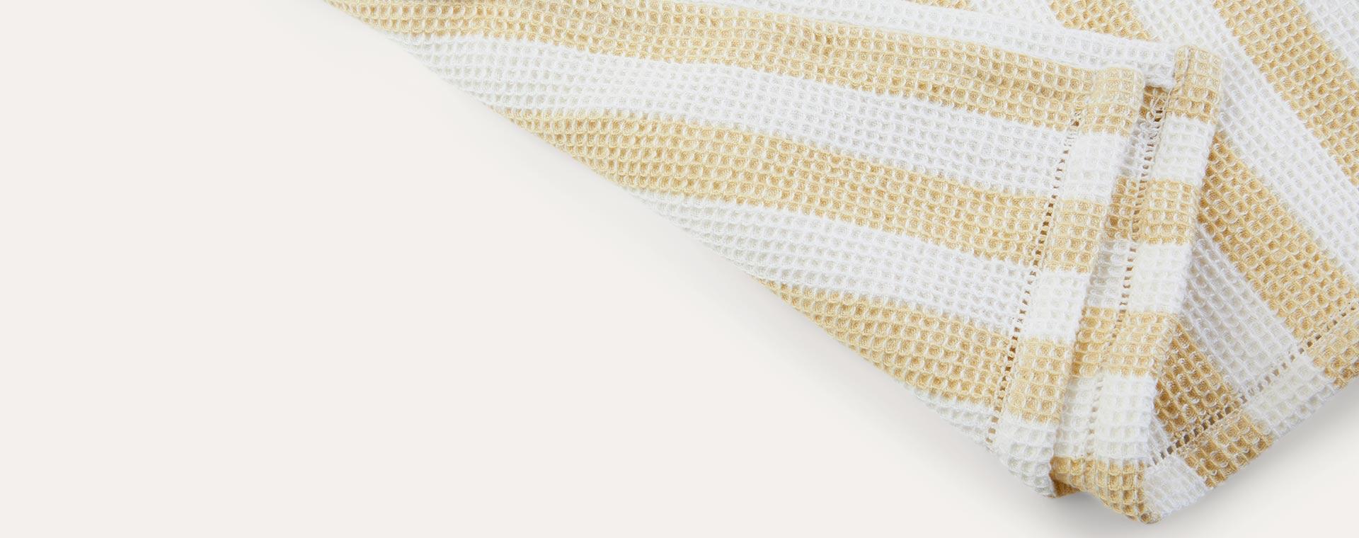 Stripe: Wheat Yellow/Crème de la Crème Liewood Paco Poncho