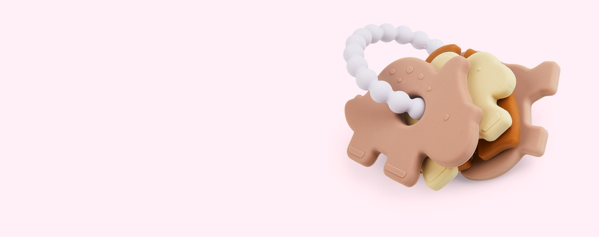 Rose Multi Mix Liewood Penny Teether 3-pack