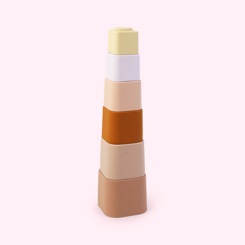 Rose Multi Mix Liewood Zuzu Stacking Cups