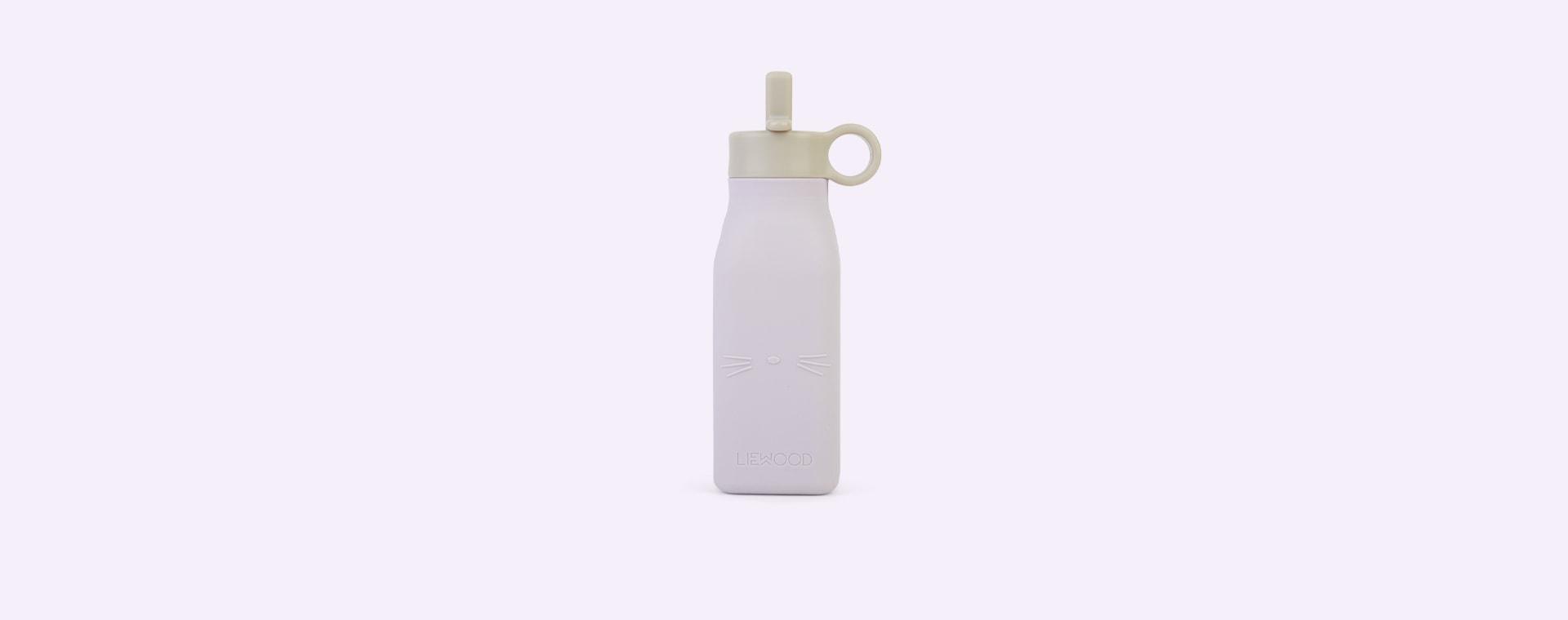 Cat Light Lavender Liewood Warren Bottle