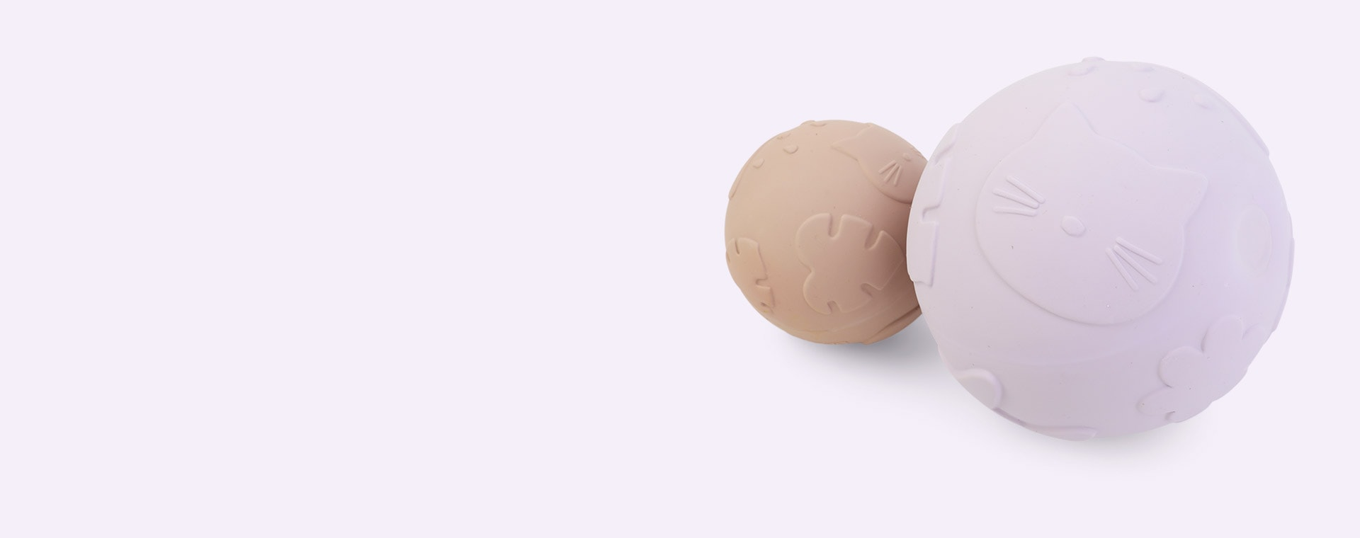 Classic Light Lavender Rose Mix Liewood Thea Baby Ball 2-pack