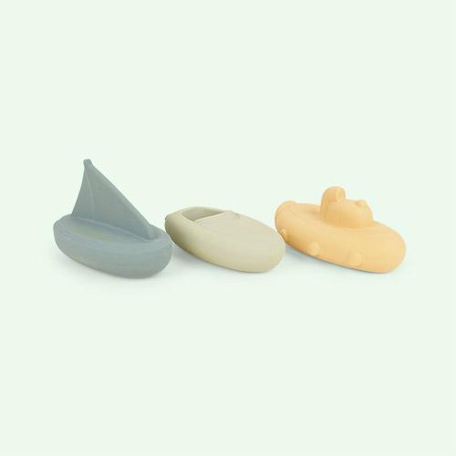 Peppermint Multi Mix Liewood Troels Bath Toys 3-pack