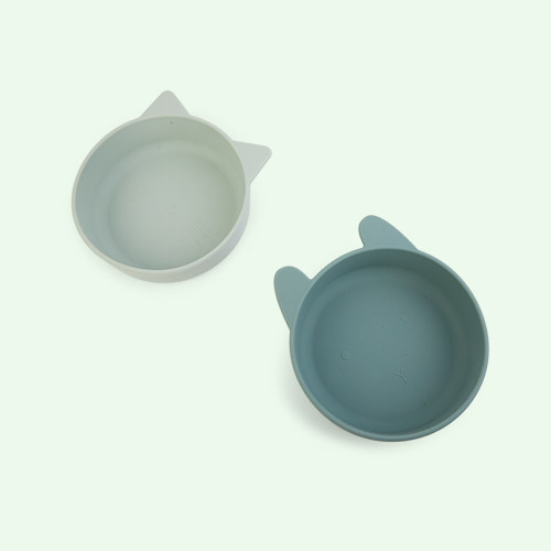 Mint Mix Liewood Vanessa Bowl 2-pack