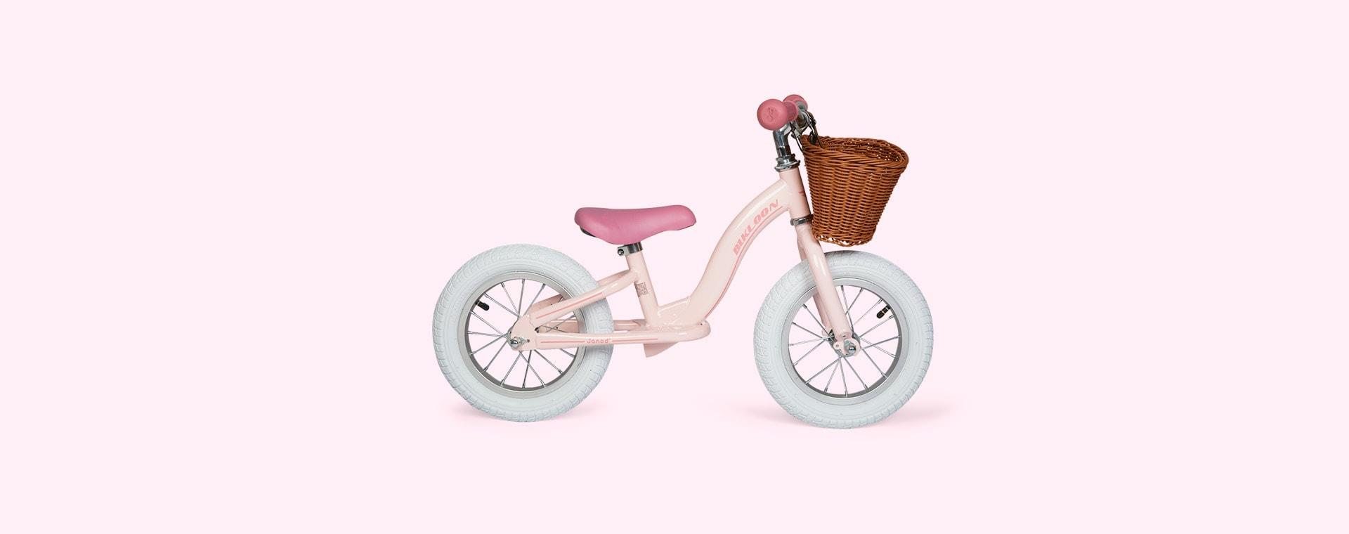 Pink Janod Rose Vintage Balance Bike