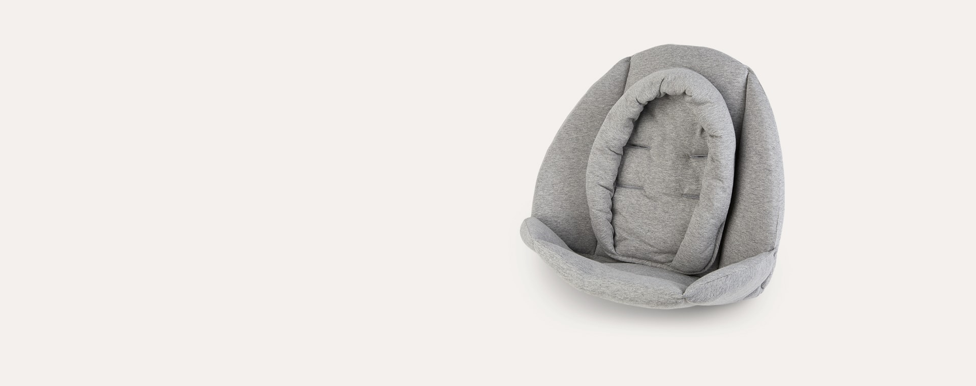 Grey Childhome Evolu Newborn Jersey Seat Cushion