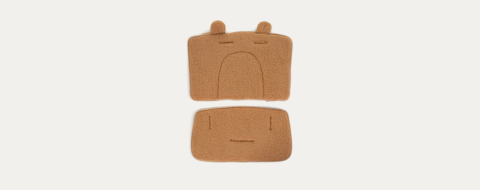 Brown Childhome Lambda Highchair Teddy Seat Cover