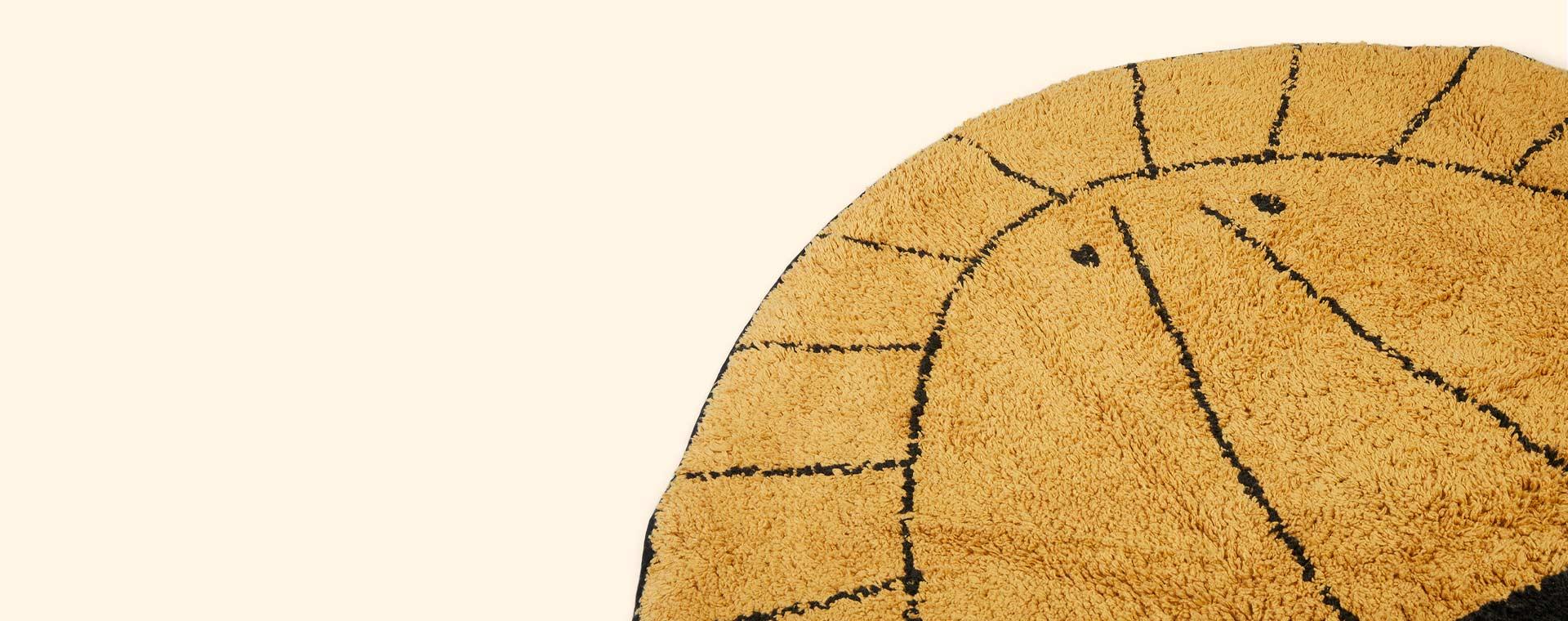 Ocher Tapis Petit Lion Rug