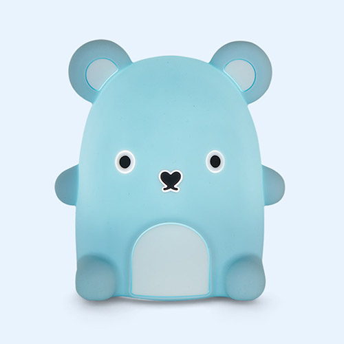 Light Blue Ricepudding Noodoll Silicone Night Light