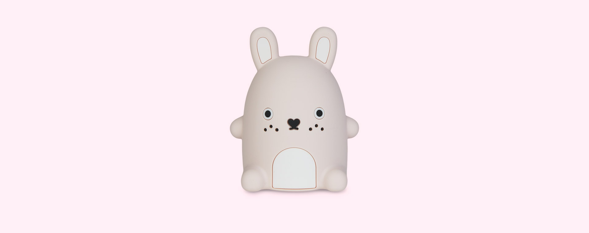 Pastel Pink Ricecarrot Noodoll Silicone Night Light