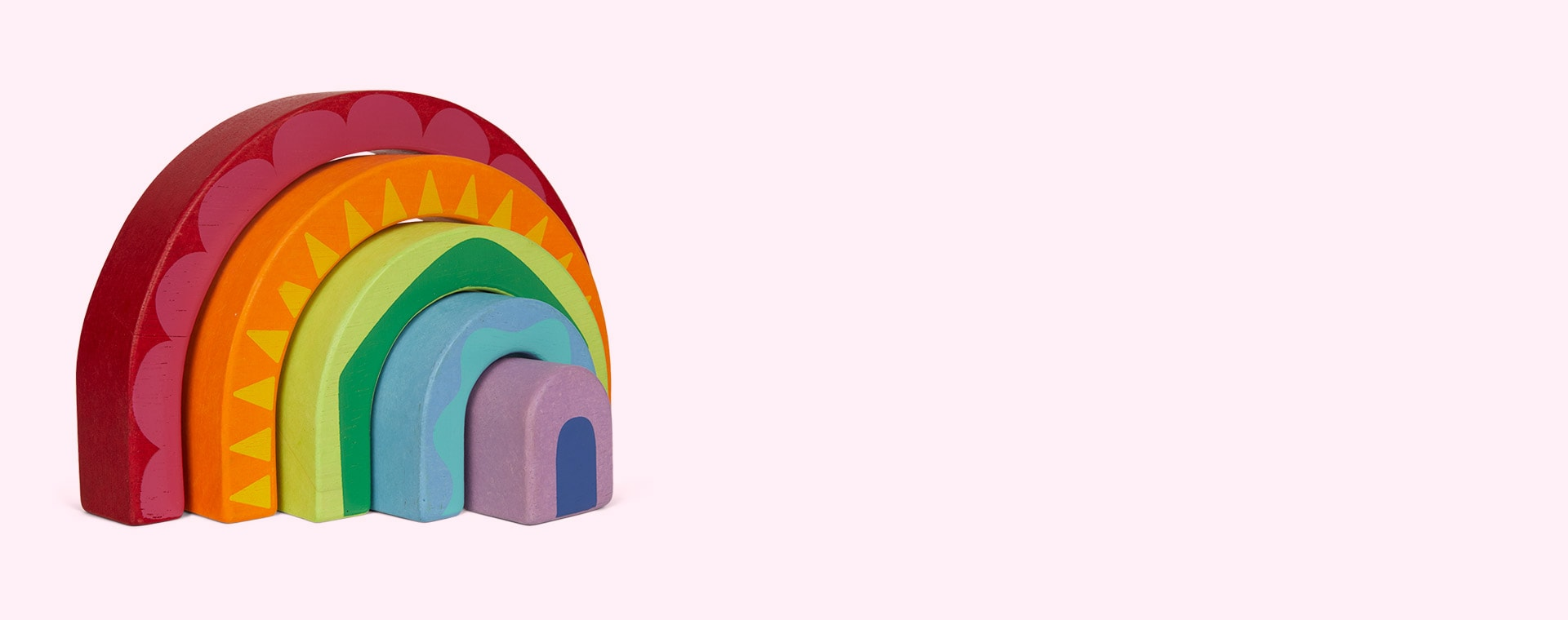 Multi Le Toy Van Rainbow Tunnel