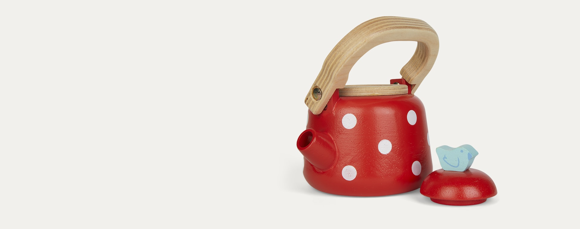 Red Le Toy Van Dotty Kettle