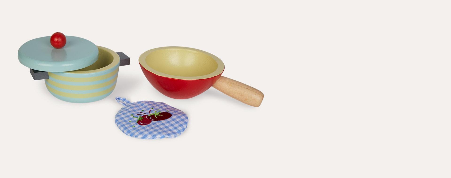 Red Le Toy Van Pots & Pans