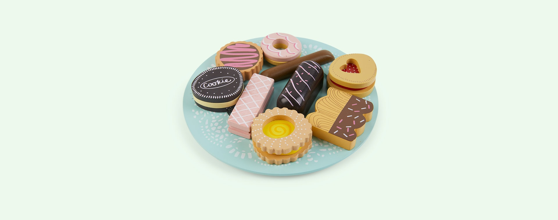 Multi Le Toy Van Biscuit Set