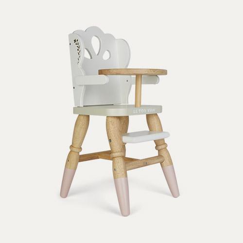 White Le Toy Van Doll Highchair