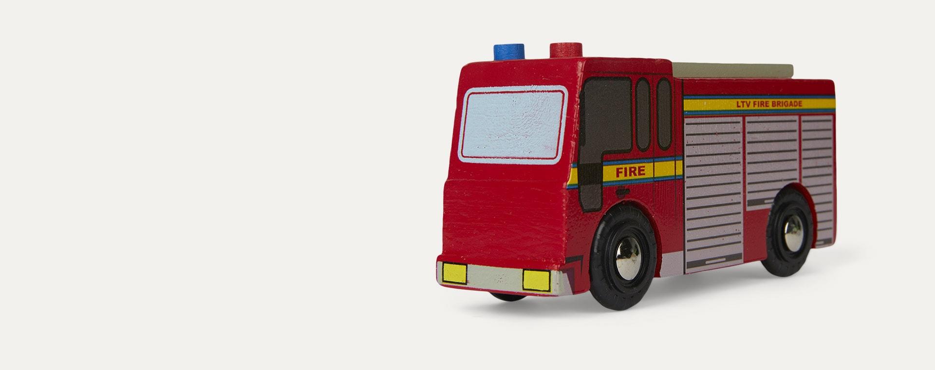 Multi Le Toy Van Emergency Vehicle Set