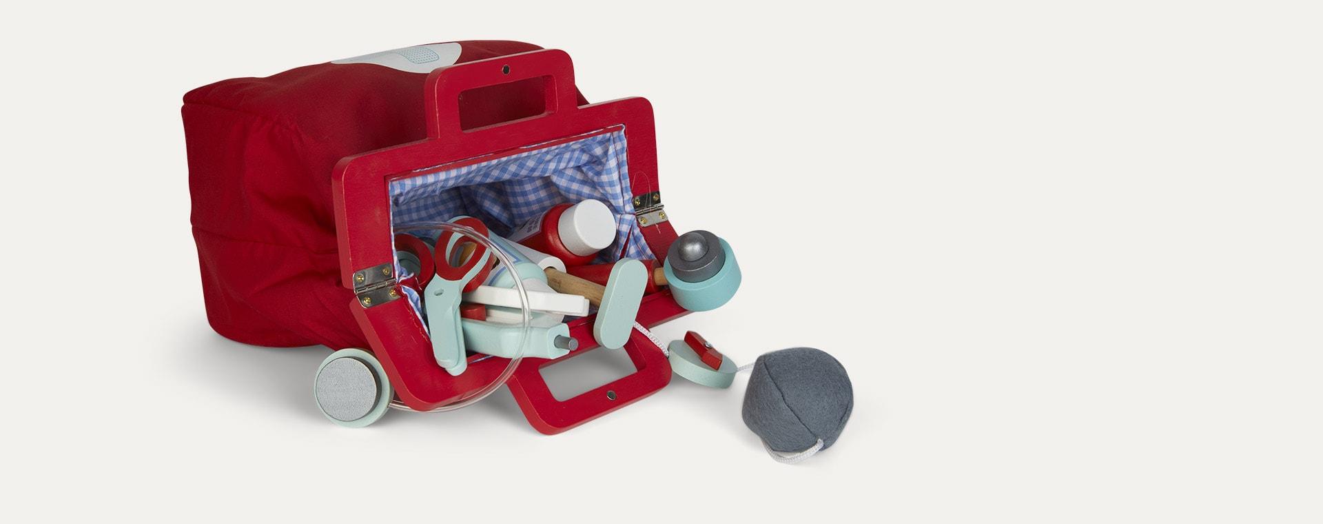 Red Le Toy Van Doctors Kit