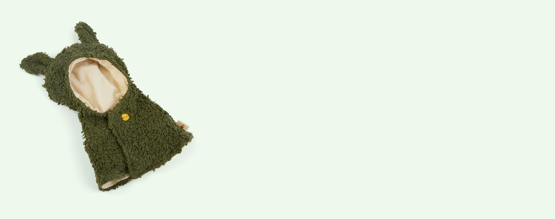 Green Fabelab Doll Clothes Set - Dragon Cape