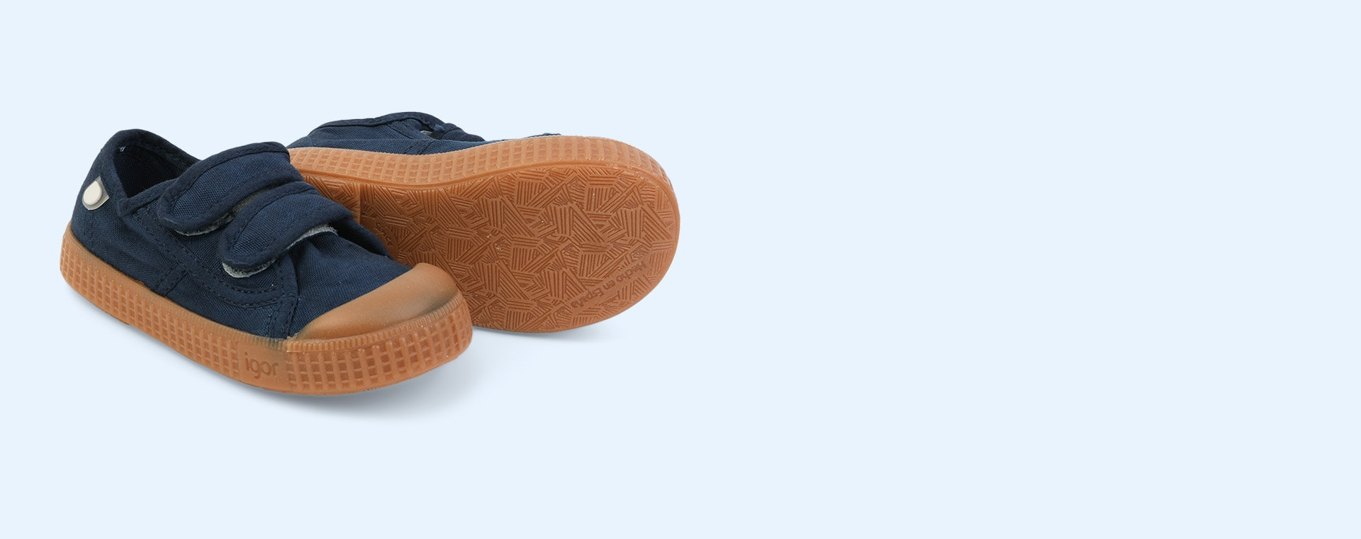 Marino igor Berri Velcro Caramelo