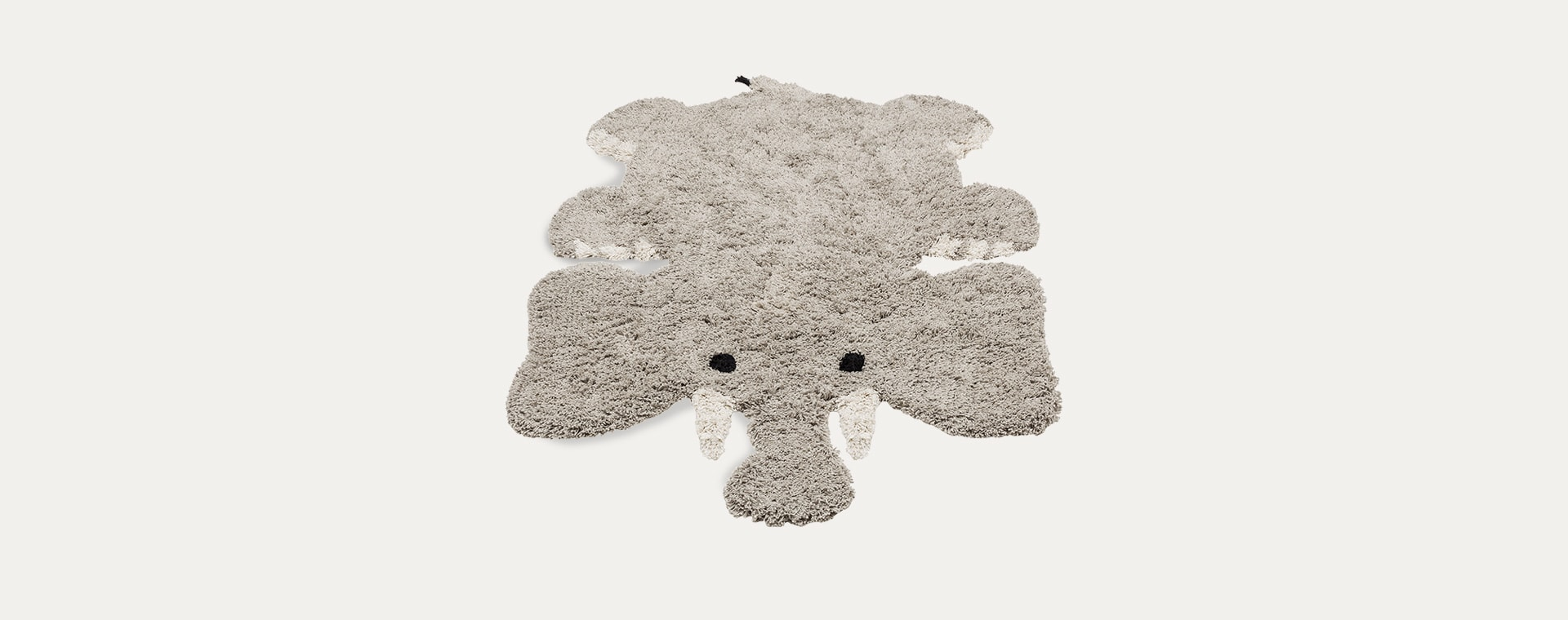 Grey Kids Depot Eric Elephant Rug