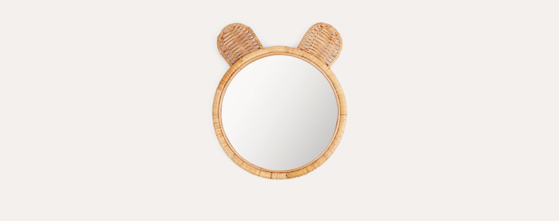 Natural Kids Depot Minon Bamboo Mirror